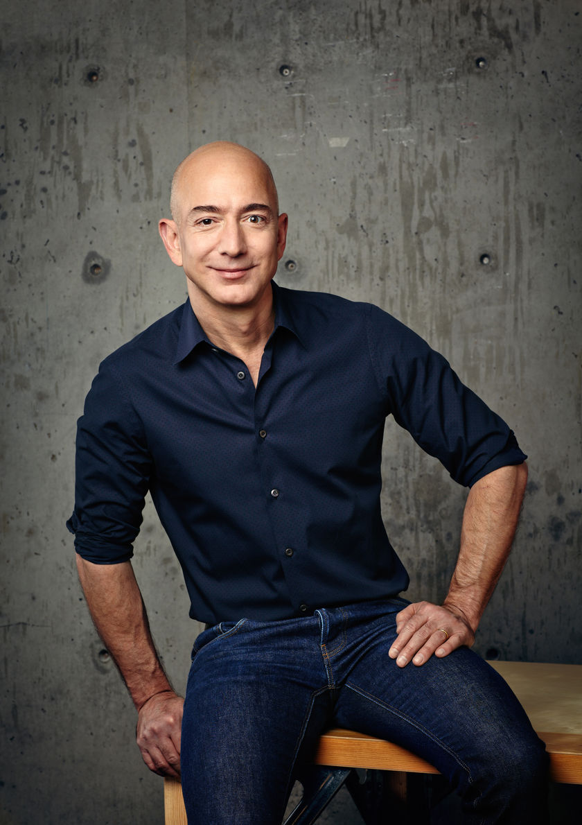 Jeff Bezos to be inducted to World's Pantheon of Logistics